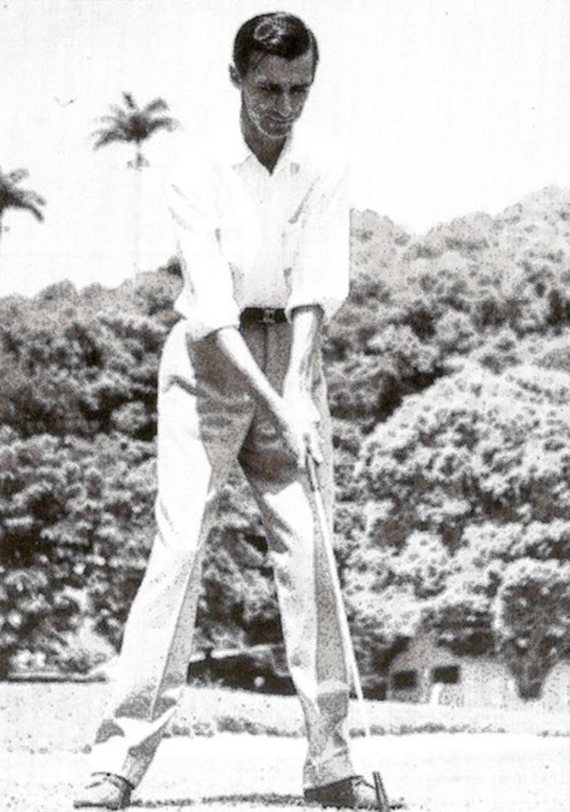 Mario Gonzales - História do Golfe